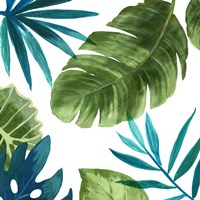 Tropical Leaves II Fine-Art Print