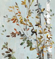 Birch with Leaves II Fine-Art Print