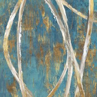 Teal Abstract I Fine-Art Print