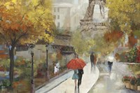 Parisian Avenue Fine-Art Print