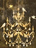 Deco Gold Distress I Fine-Art Print