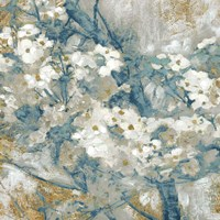 Golden Dogwood I Fine-Art Print