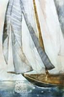 Sailboat Blues I Fine-Art Print