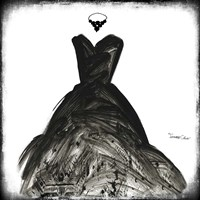 Black Dress II Fine-Art Print