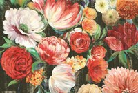 Lush Floral I Fine-Art Print
