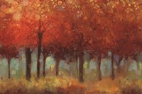 Red Forest Fine-Art Print