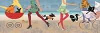 Stroller Dogs I Fine-Art Print