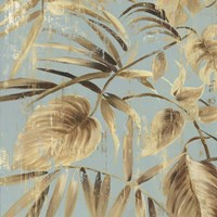Gold Palms II Fine-Art Print