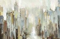 Misty City Fine-Art Print