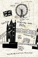 London Gold I Fine-Art Print