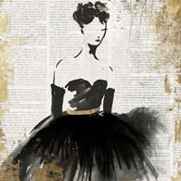 Lady in Black II Fine-Art Print