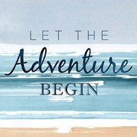 Let the Adventure Begin Fine-Art Print