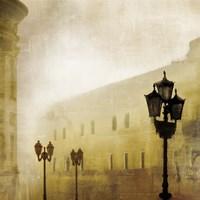Fog Town I Fine-Art Print