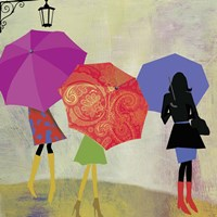 Umbrella Girls Fine-Art Print