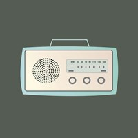 MCM Radio I Fine-Art Print