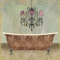Boudoir Bath I Fine-Art Print