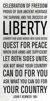JFK speech Fine-Art Print