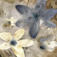 Ink Drip Floral II Fine-Art Print