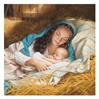 Mary & Baby Jesus Fine-Art Print