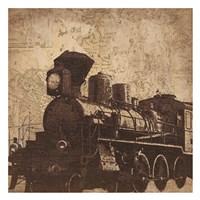 Train Travel Fine-Art Print