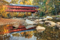 Swift River Covered Bridge Fine-Art Print