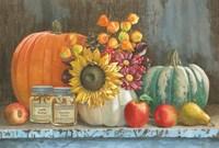 Harvest Bench Fine-Art Print