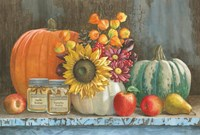 Harvest Bench Fine-Art Print