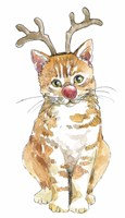 Christmas Kitties III Fine-Art Print