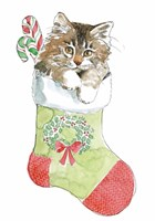 Christmas Kitties IV Fine-Art Print