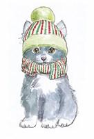 Christmas Kitties II Fine-Art Print