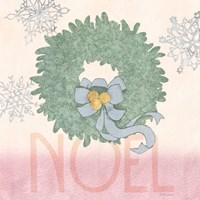 Pastel Christmas IV Fine-Art Print