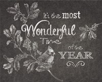 Chalkboard Christmas Sayings VI Fine-Art Print