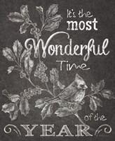 Chalkboard Christmas Sayings III Fine-Art Print