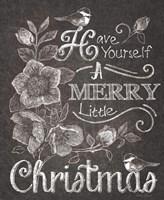 Chalkboard Christmas Sayings II Fine-Art Print