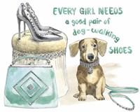 Glamour Pups V Fine-Art Print
