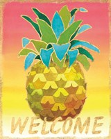 Island Time Pineapples V Fine-Art Print