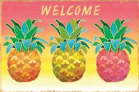 Island Time Pineapples II Fine-Art Print