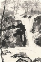 Sumi Waterfall III Fine-Art Print