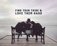 Find Your Tribe - Friend Trio Color Fine-Art Print