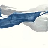 Sapphire and Gray III Fine-Art Print
