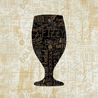 Cheers for Beers Goblet Fine-Art Print
