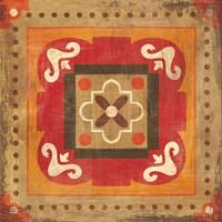 Moroccan Tiles Spice XII Fine-Art Print
