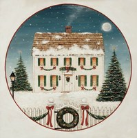 Merry Lil House Fine-Art Print