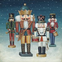 King Nutcrackers Snow Fine-Art Print