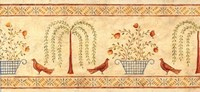 Willow Basket Border Fine-Art Print