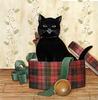 Christmas Kitty IV Fine-Art Print