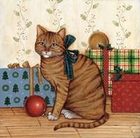 Christmas Kitty II Fine-Art Print