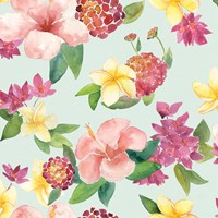 Tropical Fun Pattern VI Fine-Art Print