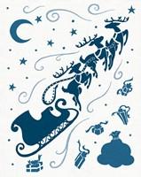 Christmas Otomi Tile II Fine-Art Print