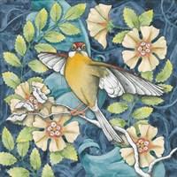 Arts and Crafts Bird IV Fine-Art Print